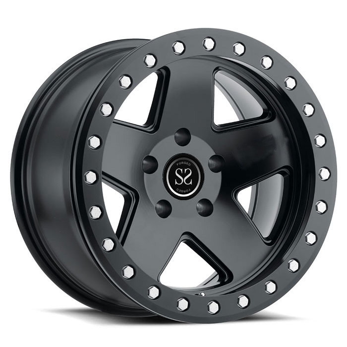 customs 20 22 24 inch forged pickup offroad vehicle SUV wheel beadlock rims for Jeep Wrangler