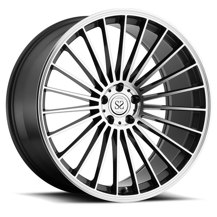 "18"" thin spoke 1 piece forged aluminum felgen vehicle wheel rim"