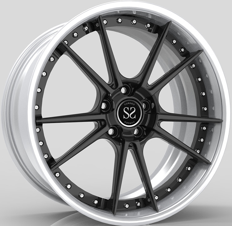 2 Piece Forged Rims, Forged Wheel 18inch Rims, Car Wheels