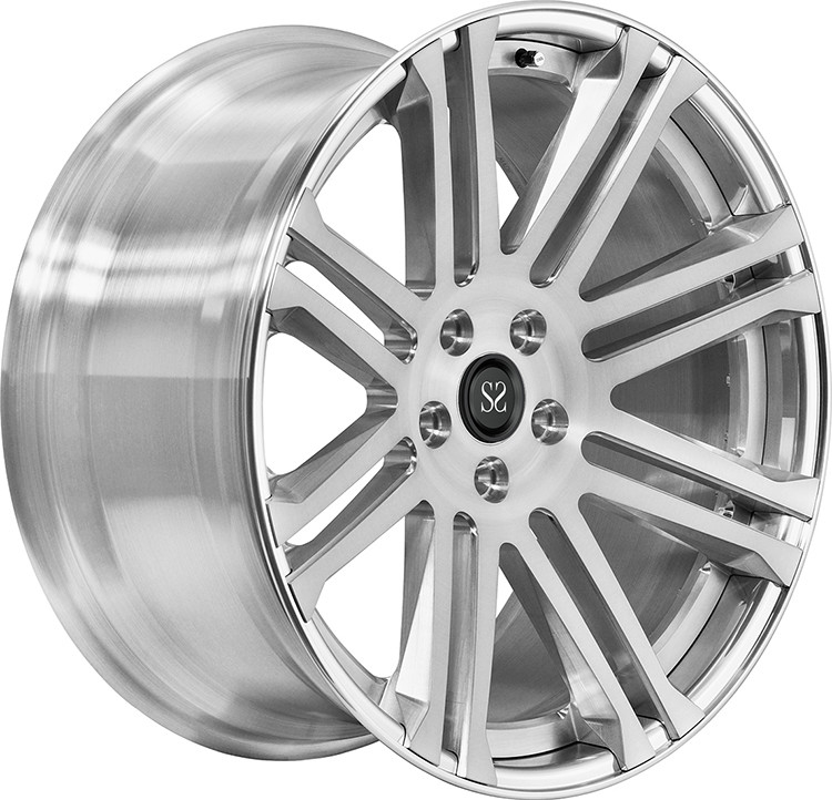 Customized Silver 2- PC Car Rims For Ranger Rover S 22 Inch Rims
